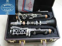 Copia buffet R13 studente strumento musicale clarinetto in Sib 17 tasti bachelite corpo nuovo arrivo b clarinetto piatto con custodia spedizione gratuita
