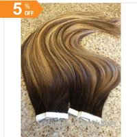 Color #2 Fading to #4 27 Balayage Extensions HLHair 100 Pcs ...