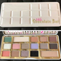 New Face White Chocolate Bar 16 Colors Eyeshadow Palette Shi...