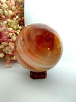 عظيم! العقيق الأحمر الجيود كريستال كوارتز العقيق مصقول عينة الكرة الكرة شفاء الأحجار الطبيعية والمعادن شحن مجاني