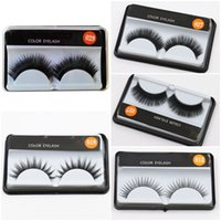 4 styles Eye lashes Natural Beauty Eye Makeup False Eyelashe...