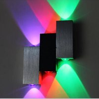 6W LED Wall Mouted Lights Up & Down Aluminum Case Modern Led...