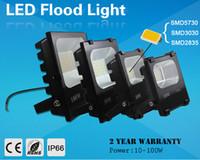 Led 투광 조명 85-265V 10W 30W 50W 100W LED 가로등 옥외 홍수 빛 방수지도 된 램프 FEDEX DHL 자유로운 배