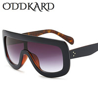 ODDKARD Classic Summer Flat Top Fashion Sunglasses For Men a...