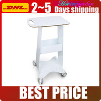 High Quality Assembled Steel Frame Trolley Cart Stand Tray F...