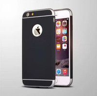 Ultra Slim pc 3 In 1 Shockproof Frosted Armor Case For Iphon...