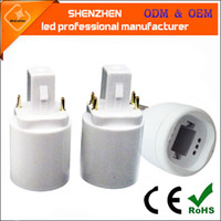 PBT High quality led lamp adapter E27 to G24 adapter Convers...