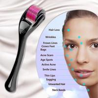 DRS 540 Microneedle Skarları Derma Rulo Paslanmaz Çelik İğneler Terapi Bakım Arıtma Cilt Gençleştirme Güzellik Anti Skar