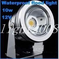 LED Lumière sous-marine pas cher Haute qualité 12V 10W LED Lampe étanche Projecteur LED Blanc ou chaud Lampe à économie d'énergie