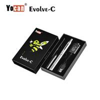 Kits de pluma 100% auténtico original Yocan Evolve Plus Kit Dab Pen Evolve-C cigarrillos e QDC cuarzo doble bobina Cera vaporizador de hierbas secas Vape