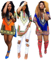 4 colors Summer Dress Bohemian Women Traditional African Pri...