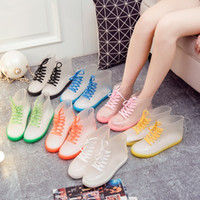 Wholesale Jelly Transparent Rain Boots Shoes - Buy Cheap Jelly ...