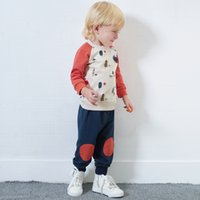 Yingzifang 2017 Autumn Boys Girls Baby Casual Cartoon Long S...