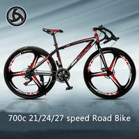 Road Bike A wheel 3 Rim Bend Men And Women Road Racing 21 24...