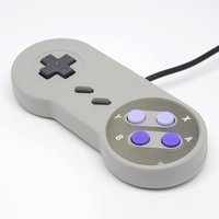 Hot 1x Retro Game Gaming per SNES USB GamePad Joystick Controller per PC Windows per Mac Sei pulsanti digitali