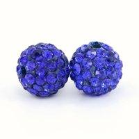 حار بيع الأزياء الياقوت اللون shamballa الخرز الحجر الطبيعي shamballa ديسكو الكرة الخرز الحجم 6 ملليمتر ، 8 ملليمتر ، 10 ملليمتر ، 12 ملليمتر 100 قطعة / الحقيبة