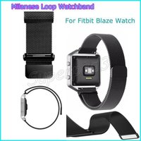 100pcs Fast DHL Magnetic Milanese Mesh Loop Watch Band For F...