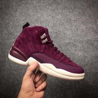 New 12 Bordeaux Basketball Shoes Men Sport Shoes 12s Sports ...