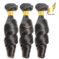 Human Hair Weaves Funmi Hair Loose Wavy 3pcs lot Peruvian Hu...