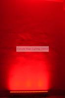 Freie Verschiffen Qualität 24x3W RGB Tri 1M langes wasserdichtes LED Wand-Wäsche-Licht Wallwasher im Freienwand-Lampen-Wand-Unterlegscheiben-Licht