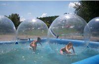 فقاعة المواد البلاستيكية نفخ المياه الكبيرة الكرات نفخ المياه المشي المرح المياه بركة لعبة نفخ الرقص الكرة سحاب