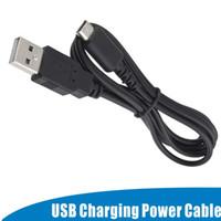Cable de alimentación de carga con cargador USB de 1.2M para Nintendo para DS NDS Lite para NDSL Nuevo al por mayor