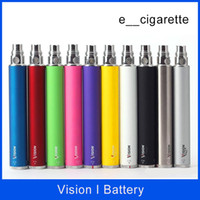 Vision Spinn Batterie ego batterie eGo C Twist 650mAh 900mAh 1100mAh 1300mAh Tension variable batterie de torsion de l'ego Cigarette électronique
