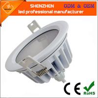 Kwadratowy okrągły wpuszczony LED Downlight SMD25730 2835 7W 9W 12W 15W 18W 24W LED Downlight AC85-277V Wodoodporny IP65