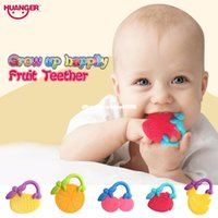 dhgate 4pcs Fruits Teethers Baby biter Rattles Ring Hand Sha...