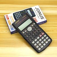 Calculatrice scientifique multi-fonctions portable à 2 lignes Calculatrice multifonction portable 82MS-A pour l'enseignement des mathématiques