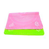 50 * 40 cm tappetino in silicone torte da forno padelle antiaderenti pad in silicone tavolo griglia pad gelatina fondente piastra di cottura utensili da cucina
