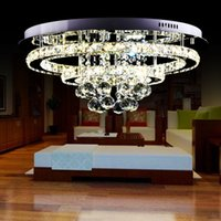 Moderno lussuoso stile generoso, brillante lampadario K9 in acciaio inox con lampadari a LED, diametro 550mmCome MP3 f