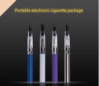 Elektronische Zigarette Set Ego CE4 Blister Verpackung Vape Stifte Kit Batteriekapazität 650 mah Zerstäuber Verdampfer Tank sicher und heißer Verkauf