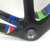 Vendita Top S telaio telaio in carbonio bob carbonio della bicicletta VISA telaio bici da strada T1000 china telaio in carbonio + frok + auricolare + clamp + il trasporto reggisella libera