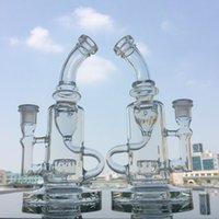 Klein Bongs Recycler Glass Bong Water Pipes FC Recycler Oil ...