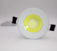Super Bright Recessed LED Dimmable Downlight COB 9W Warm Col...