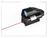 4 Multi-Retikel 1x22x33 Roter und grüner Reflex-holographischer Sehlinsen-Umfang mit roten Laser mit Fernschalter