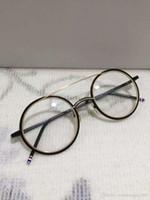 Nouvelles lunettes de soleil cadres TB-108 planche cadre lunettes cadre restaurer anciennes façons oculos de grau hommes et femmes myopie lunettes cadres
