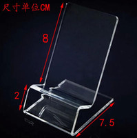 DHL fast delivery Acrylic Cell phone mobile phone Display St...