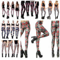 f88919307 Wholesale plus size leggings for sale - 20 Styles D Printed Fitness Push Up  Workout Leggings