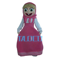 Nuova taglia Martha Mascot Dress Costume Mascot Fancy Adult Size