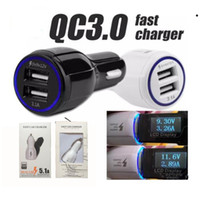 High Quality 9V 2A 12V 1. 2A QC3. 0 fast car charge 3. 1A Dual ...