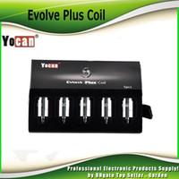 Original Yocan Evolve Plus Kit de cire de bobine de remplacement de pandon NYX Evolve-D NYX Head Céramique Dual Donut Kit de cire de bobine pure 100% véritable