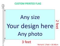 Флаг напечатанный таможней 2x3 подгонял любые флаги и знамена полиэфира размера, Логоса, конструкции и фото