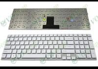 Teclado novo portátil para Sony VPC EB EB EB11 EB12 EB15 Series (sem Frame) Branco EUA Versão - 148793221 MP-09L23US-8861
