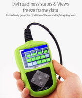 Original JDiag JD201 Code Reader OBD2 OBDII EOBD CAN Fault Code Lamp Definition PCM I M Views Freeze Frame Data