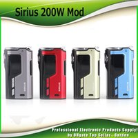 Original Lost Vape Sirius 200W TC Mod Dual 18650 Battery Box Mod Lostvape Ecig Vape Mods 100% Аутентичные
