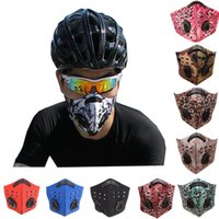 Cycling Face Masks with Activated Carborn Filter Half Face B...