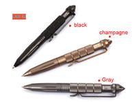 6 TEILE / LOS LAIX B2 Tactical Pen Defense pen Cooyoo Werkzeug Luftfahrt Aluminium Anti-skid Tragbare Werkzeug Überleben Stift Multifunktionale Camping Werkzeuge
