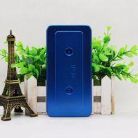 Aluminio 3D Sublimación Caja del teléfono móvil Molde herramienta para iphone X XS MAX XR 8 7 6S Plus galaxy s9 S8 Plus S7 edge Nota 8 9 mate 20 pro